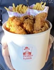 Smažené kuře pro 4